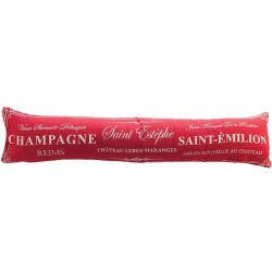 Zábrana Champagne red