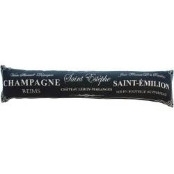 Zábrana Champagne black