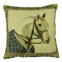 Povlak na polštářek gobelínový 45 x 45 cm - Kůň