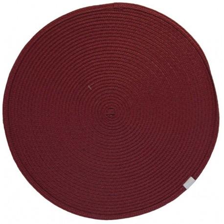 Prostírání kulaté červené průměr 35cm