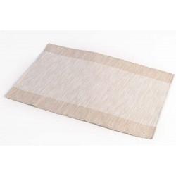 Prostírání bavlna béžový pruh (30×45)