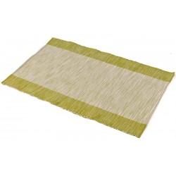 Prostírání bavlna zelený pruh (30×45)