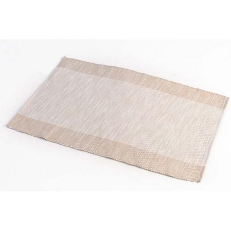 Štola bavlna 35x140cm béžový pruh