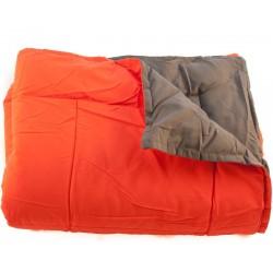 Deka camping Ella oranžová 150x200