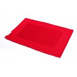 Štola bavlna 35x140cm rudý rámeček