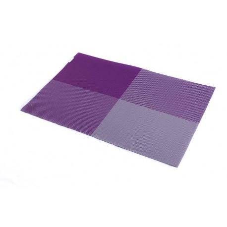 Prostírání PVC fialová šachovnice (30×45)