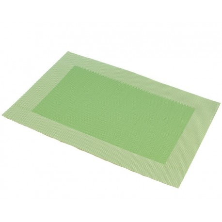 Prostírání PVC zelený rámeček (30×45)