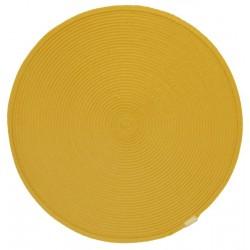 Prostírání kulaté žluté průměr 35cm