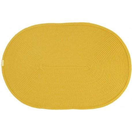 Prostírání oválné žluté