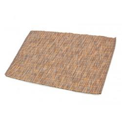 Prostírání bavlna melír - oranžovošedý 30x45 cm