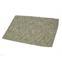Prostírání bavlna melír zelenošedý 30x45 cm