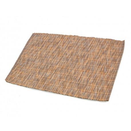 Štola bavlna 35x140cm melír oranžovošedý