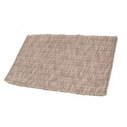 Štola bavlna 35x140cm melír šedý