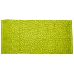 Ručník finera zelený 70 x 140 cm