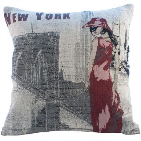 Povlak na polštář Gobelín New York 45x45