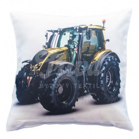 Povlak foto satén Traktor