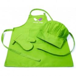 Dětský kuchařký set zelený