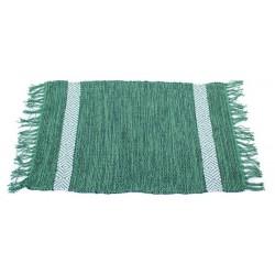 Koberec se vzorem zelený velký