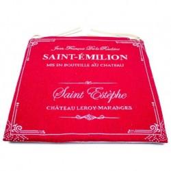 Podsedák gobelínový 45 x 45 cm - Champagne red