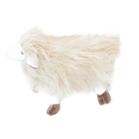 Ovce Tibet stojící béžová