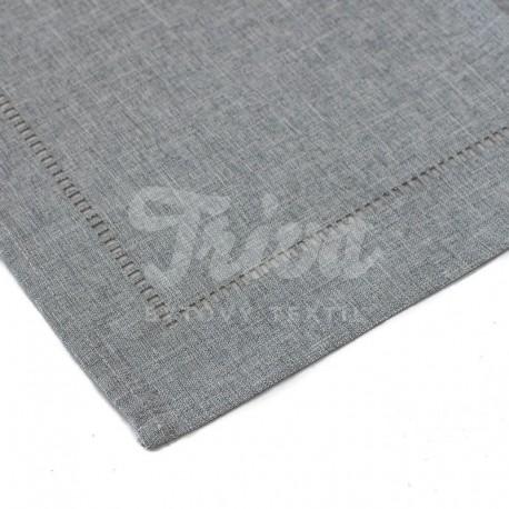 Ubrus 120x140cm šedý