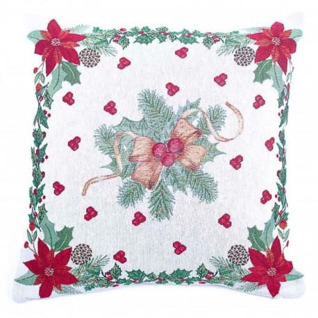 Povlak na polštářek gobelínový Vánoční hvězdy