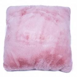Povlak na polštářek Catrin růžová 45 x 45 cm