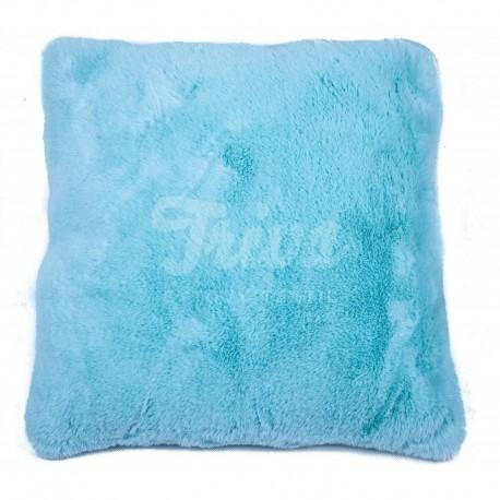 Povlak na polštářek Catrin světle tyrkysová 45 x 45 cm